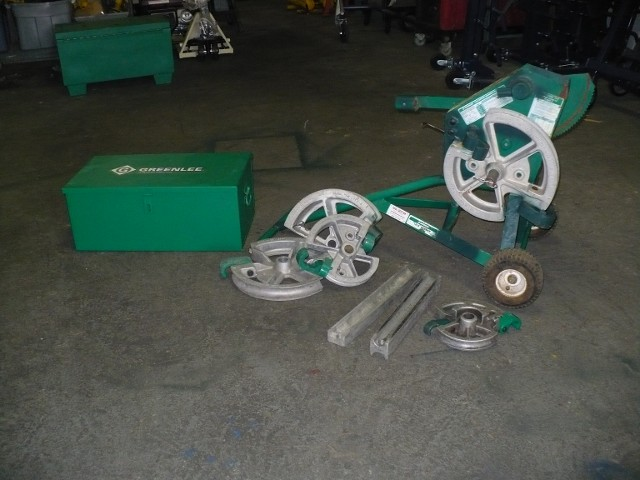 "GREENLEE 1818 MECHANICAL BENDER FOR 3/4""-2"" EMT CONDUIT AND 1/2""-1 1/2"" IMC & RIDGID CONDUIT $2495.00"