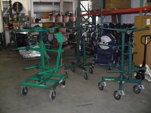 GREENLEE/SUMNER 10 PACK WIRE CART HOLDS 10 2500' SPOOLS