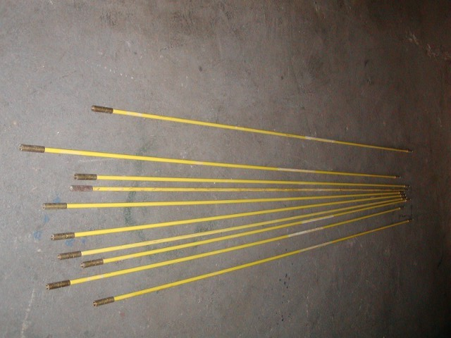 "FIBERGLASS DUCT ROD 5/8"" X 10' (10 PCS)"