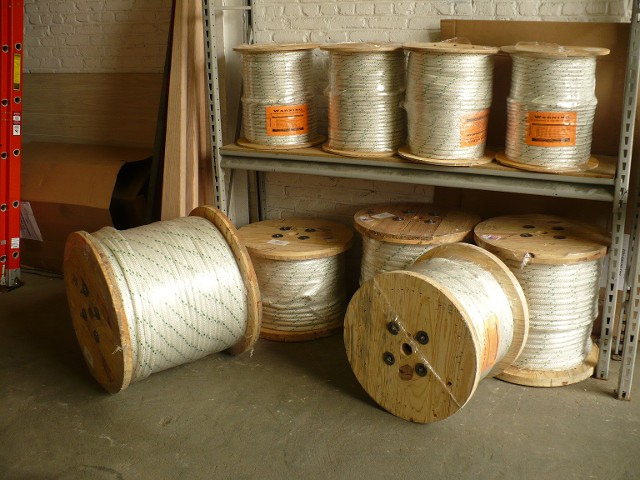 "DOUBLE BRAIDED PULLING ROPE 9/16""-7/8"" 300', 600' & 1200' SPOOLS"