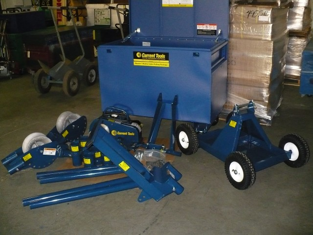 CURRENT 8890AS MOBILE PULLER PACKAGE 8000# CAPACITY