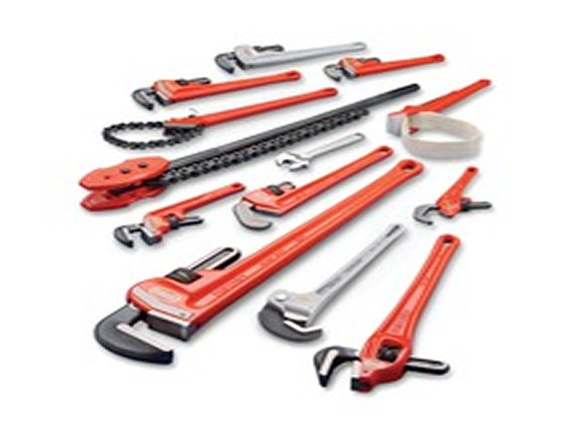 RIDGID PIPE WRENCHES