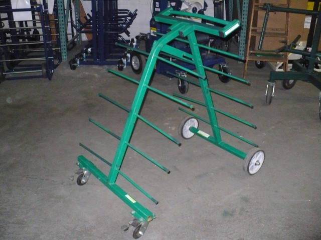 GREENLEE 9515 WIRE CART 60-500' SPOOLS