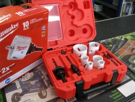 PLUMBERS HOLE SAW KIT